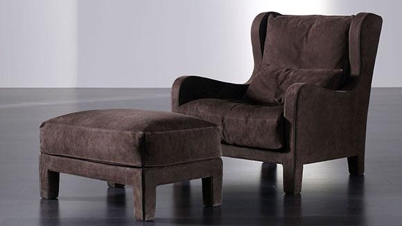 Berżery - wygodne fotele z głębokim siedziskiem