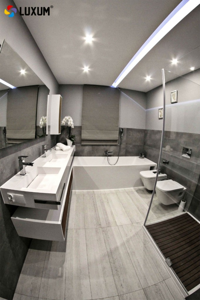Urządzenie nowoczesnej łazienki