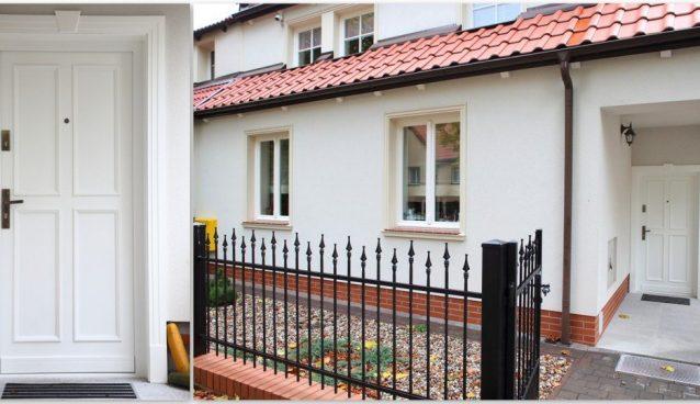 Drzwi klasyczne drewniane debowe
