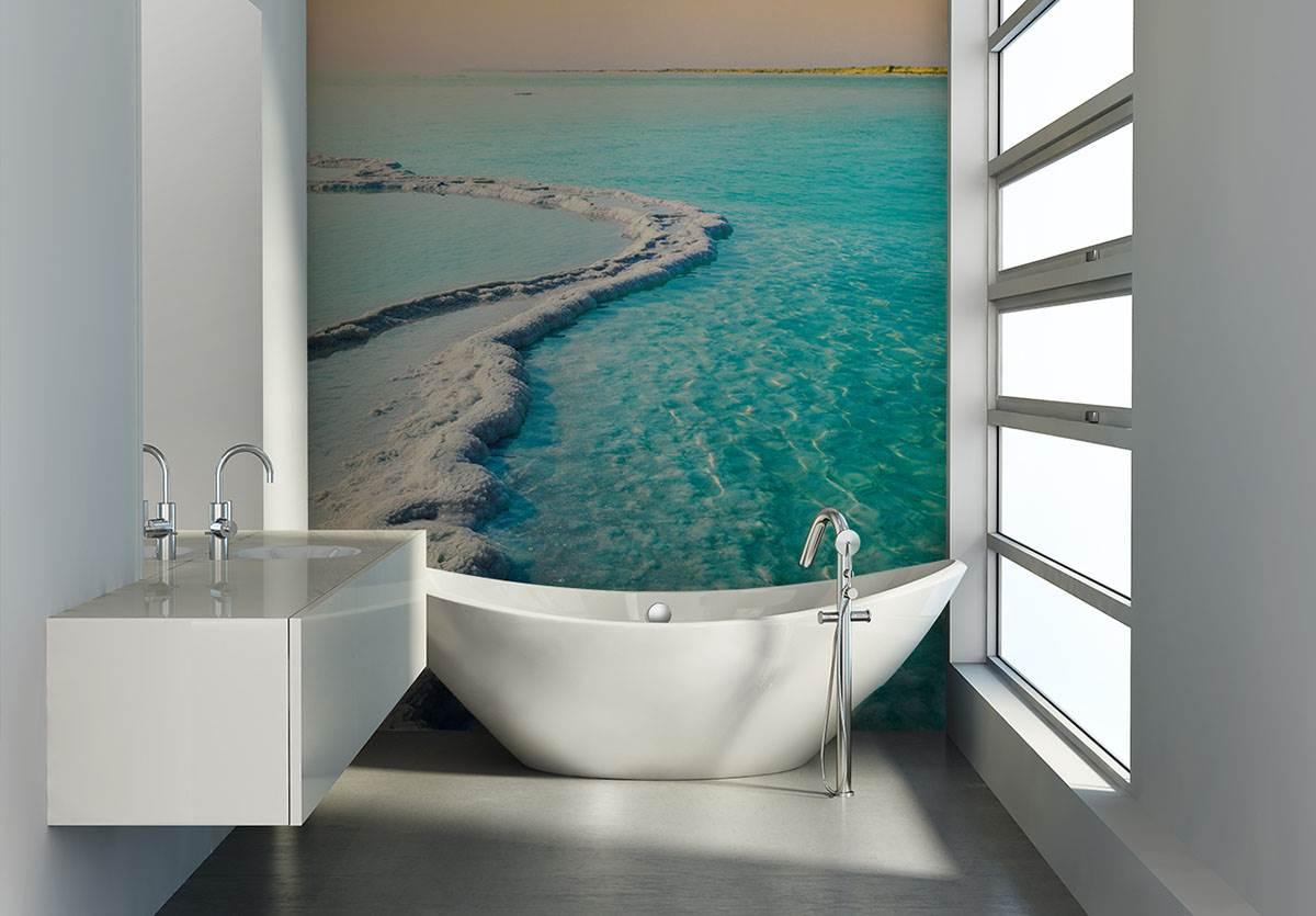 Fototapeta do łazienki, czyli zupełnie nowa oprawa codziennych czynności